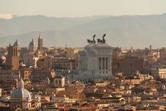 Piękny widok Rzym obraz stock