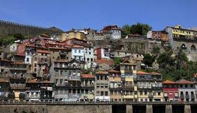 Piękny widok stary Europejski miasto Porto fotografia royalty free