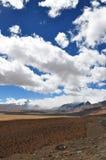 Piękny widok tybetańczyka krajobraz Zdjęcie Stock