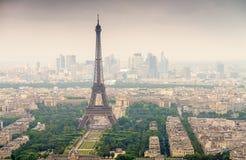 Piękny widok wycieczka turysyczna Eiffel Paris wieżę eiffel France Zdjęcia Royalty Free