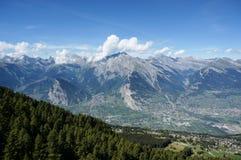 Piękny widok wzdłuż trekking próby Obrazy Stock