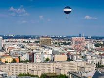 Piękny widok z lotu ptaka linia horyzontu Berlin obraz royalty free