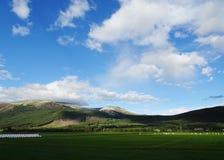 Piękny wiejski krajobraz Norwegia fotografia stock