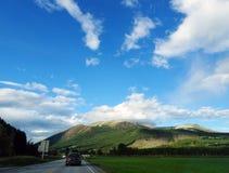 Piękny wiejski krajobraz Norwegia obrazy stock