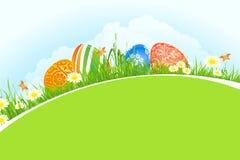 Piękny Wielkanocny Wakacyjny tło royalty ilustracja