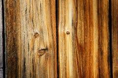 Piękny wietrzejący drewno Fotografia Royalty Free
