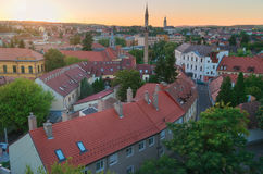 Piękny wino region Eger w Węgry zdjęcie stock