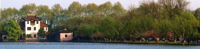 Piękny wiosny scenerii przyciąganie Zdjęcie Royalty Free