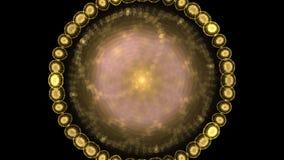Piękny wirować toczy wewnątrz głęboko wszechświat royalty ilustracja