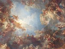 Piękny wojenny portret przy Versailles! zdjęcia royalty free