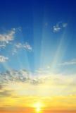 Piękny wschód słońca Obrazy Royalty Free