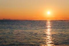 Piękny wschód słońca Zdjęcia Stock