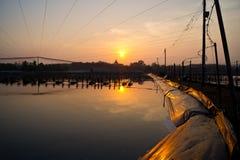 Piękny wschód słońca. Zdjęcia Stock