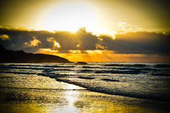 piękny wschód słońca Fotografia Royalty Free
