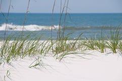 piękny wydmowy piasek Zdjęcia Royalty Free