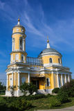 Piękny wznawiający Kościelny kompleks w Kolomna Obraz Stock