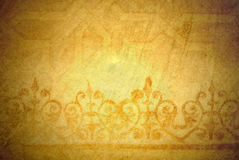 Piękny złocisty tło Obraz Royalty Free