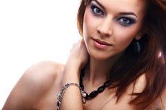 piękny zakończenie piękny model Fotografia Royalty Free