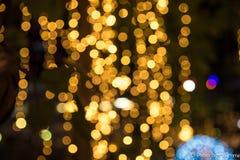 Piękny zamazany lekki bokhe dla tło materiału Zdjęcie Stock