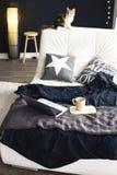 piękny zbliżenia szczegółów wnętrza talerza stołu rocznik drewniany Obraz Royalty Free