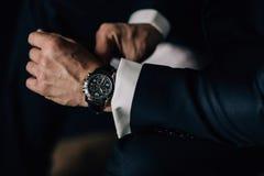 Piękny zegarek obrazy royalty free