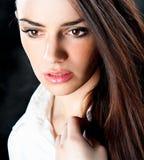 Piękny zmysłowy target539_0_ kobiety Fotografia Stock
