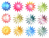 pięknych bożych narodzeń ilustracyjny gwiazd wektor Zdjęcie Royalty Free