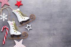 pięknych bożych narodzeń ilustracyjny gwiazd wektor Nowego Roku tematu tło Zdjęcia Royalty Free