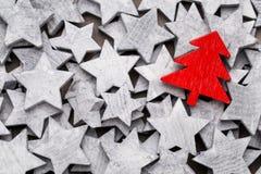 pięknych bożych narodzeń ilustracyjny gwiazd wektor Nowego Roku tematu tło Zdjęcie Royalty Free