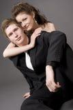 pięknych par młodych Fotografia Royalty Free
