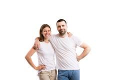 pięknych par młodych Zdjęcie Stock