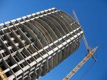 Piętrowa budowa zdjęcie royalty free