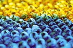 piłek błękit kolor żółty zdjęcie royalty free