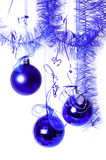 piłek błękit nowy rok Zdjęcia Royalty Free
