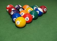 piłek basenu stół Obrazy Stock