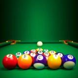 piłek billiard kopii przestrzeń Fotografia Stock