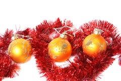 piłek bożych narodzeń świecidełko Fotografia Stock