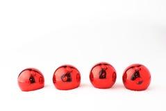 piłek bożych narodzeń czerwieni drzewo Obraz Stock