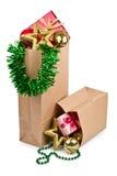 piłek bożych narodzeń dekoraci prezent Zdjęcie Stock