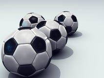 Piłek nożnych piłki Ilustracja Wektor
