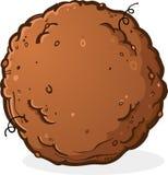 Piłka brud lub kaku kreskówka ilustracja wektor