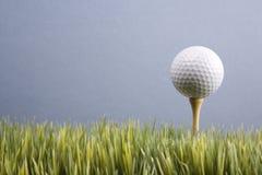 piłka do golfa tee odpoczywa fotografia stock