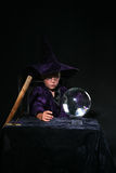 piłka dziecka crystal czarodziej personelu Obraz Royalty Free