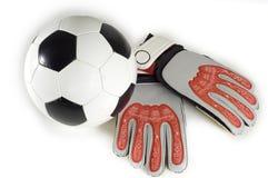 piłka futbolowa rzeczy Zdjęcia Stock