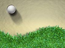 piłka golf royalty ilustracja