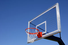 piłka koszykowy hoop obraz royalty free