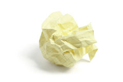piłka miący papier Fotografia Royalty Free