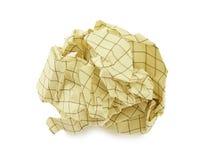 piłka miący papieru Fotografia Royalty Free