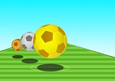 piłka nożna royalty ilustracja
