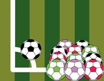 piłka nożna Zdjęcie Royalty Free